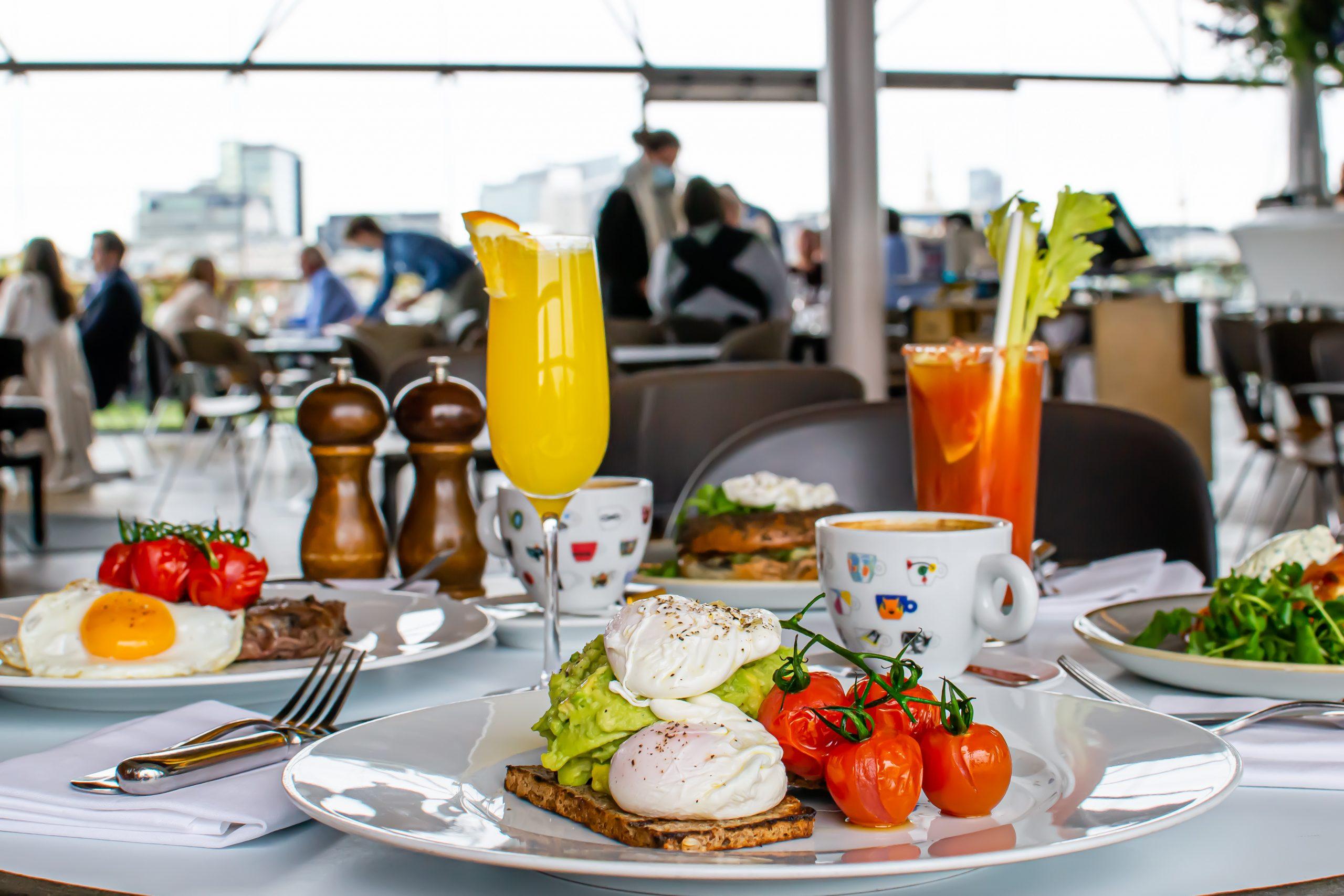 OXO Brasserie breakfast club!