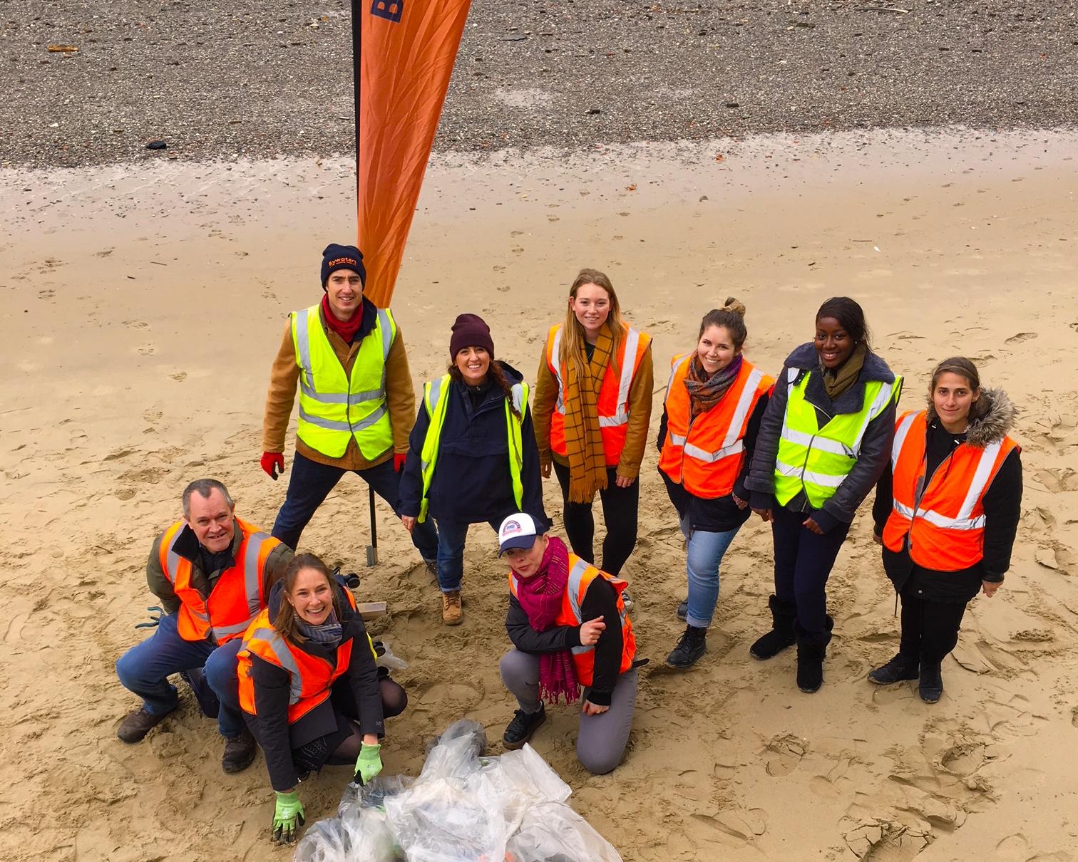 Join our beach clean