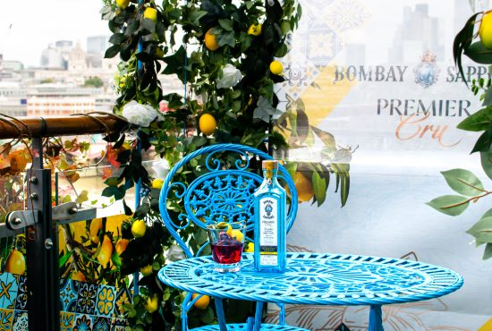 Bombay Sapphire's Premier Cru take over the OXO terrace